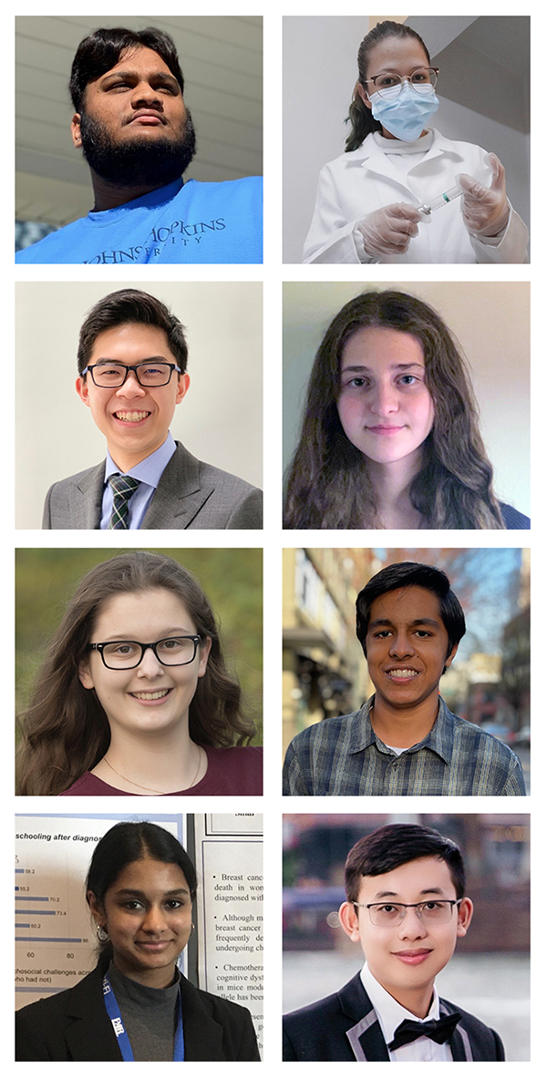 Winners of the 2021 Milton Fisher Scholarship for Innovation and Creativity