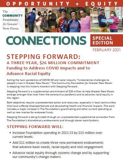 Connections Newsletter 2021 Stepping Forward Special Edition
